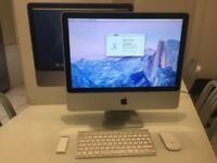 Apple iMac 20 inch, 2 GHz Processor, 4 GB Ram, 500GB Hard drive