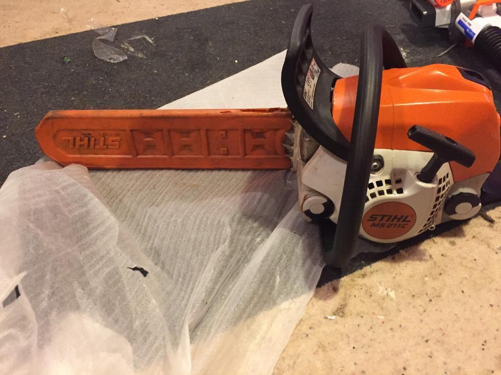 Sthil chainsaw ms211c