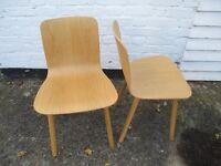Vitra Jasper Morrison Hal Ply Wood chairs