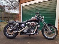 Harley Davidson dyna wide glide 1996