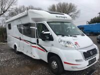 SUNLIGHT T67 MOTORHOME. LEFT HAND DRIVE. FIAT DUCATO CHASSIS, 2287cc, 150 HP. MADE BY DETLEFFS