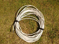 Caravan motorhome or home TV aerial extension cable coax with fittings