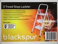 Blackspur three tread step-ladder for sale