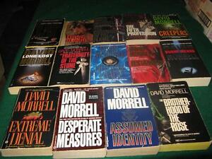 David Morrell books $1 each or $10 for the lot