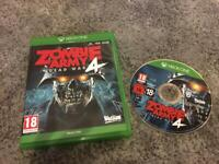 Zombie Army 4 XBOX ONE game like new condition