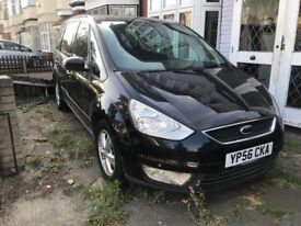 Ford Galaxy Zetec TDCI 6G Diesel MPV Manual 2006 Black 1.8litres Great Condition Spacious 7 Seats