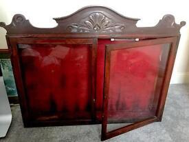 Antique Trophy Display Cabinet