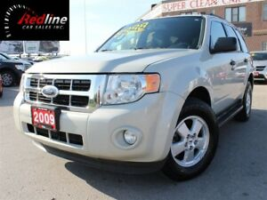 2009 Ford Escape XLT V6 4WD Leather