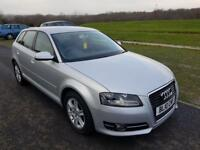 Audi A3 SE Sports1.6TDi Diesel,£30 Tax/year,Cambelt done,F Service History,me clutch flyer wheel