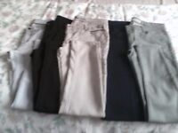 SOLD 5 pairs of ladies jeans all size 14