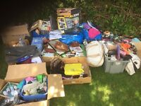 Absolutely huge house clearance items job lot car boot gifts, bags, makeup housewares etc etc