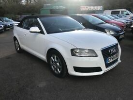 Audi A3 Cabriolet 1.9 TDI Cabriolet 2dr (white) 2008