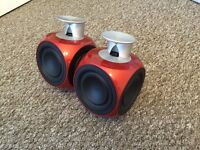 Bang & Olufsen Beolab 3 Speakers in Red