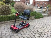 Ultralite 480 Mobility Scooter in excellent condition. second hand in excellent condition