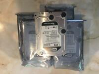 5x Western Digital Caviar Black 1TB 7200RPM 6GB/S 3.5""