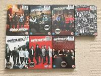 "TV series ""Entourage"" series 1-6 on DVD, brand new and sealed discs."