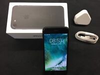 IPhone 7, 32 Gb Jet Back on EE, in immaculate condition.