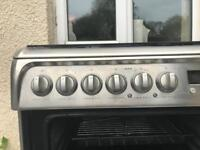 Gas cooker Double Electric Oven