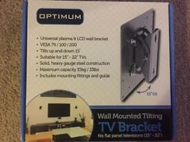 Small tv wall bracket