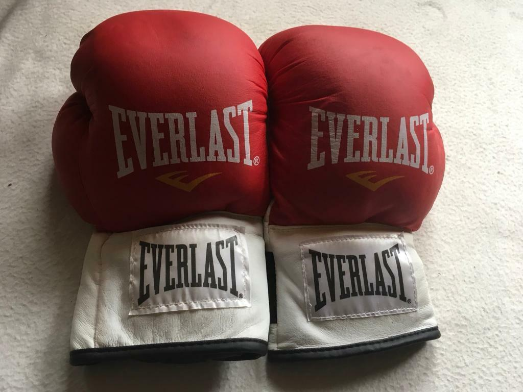 defc80c1 Everlast men's boxing gloves size M used good condition £5 | in ...