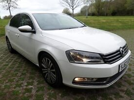 2012 VOLKSWAGEN PASSAT 2.0TDI SPORT BLUEMOTN TECH*WHITE*FINANCE AVAILABLE