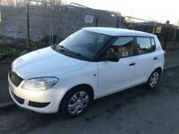 Skoda fabia S 1.2 low mileage cheap to insure