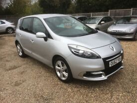 2012 (62) Renault scenic 1.5 dci satnav leather