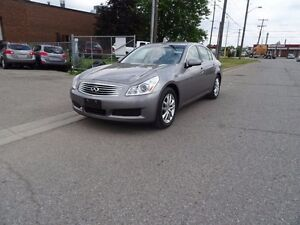 2008 Infiniti G35X Luxury.Low Kms. Extended warranty available.