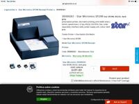 Receipt printer (Star SP 298) brand new! Great for shops. OFFERS WELCOMED