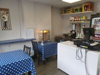 SANDWICH BAR/ CAFE/TAKEAWAY - RECENTLY REFURBISHED - FURTHER REDUCED FOR QUICK SALE!!