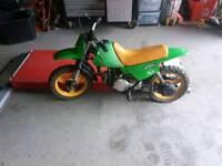 Kawasaki scrambler