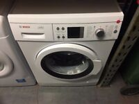 BOSCH 8KG WASHING MACHINE WHITE RECONDITIONED