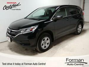2015 Honda CR-V LX - Remote start! LOW KMs | Heated Seats