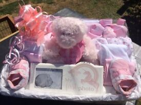 large baby girl gift hamper. Other gift hampers & nappy cakes made to order