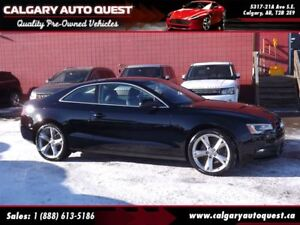 2014 Audi A5 2.0 Komfort AWD/6-SPEED/LEATHER/ROOF