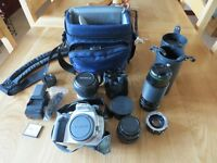 CANON 400D CAMERA PACKAGE