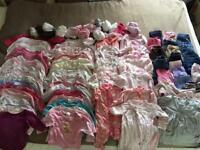 Winter girls clothes bundle (6-9 months)