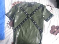 skin-two latex shirt