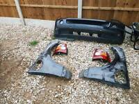 Range rover sport (front bumper, wings and rear lights)