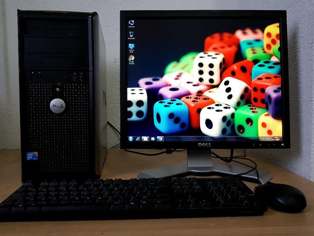 Fast Dell Desktop Computer PC ,3GB RAM,320GB HDD,Wifi