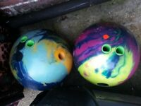 2 roto grip hywire bowling balls for sale need rid £15