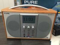 Pure Evoke 3 DAB, AM/FM Radio - Rechargeable Battery and SD Card Included