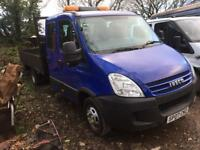 Iveco daily 50C15 euro 4 crewcab tipper 2007 / 105k 1 owner