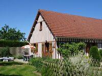 1 week's free rental in Normandy in exchange for driving my elderly father there + back