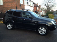 SSangyong Rexton 270XDi sx5 Auto Diesel Low Mileage - Reduced Price. Brilliant Towcar.