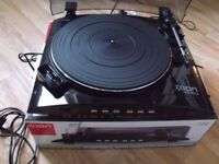 ION-IPROFILE-TURNTABLE-DIRECT-TO-IPOD-TRANSFER-EX-CONDITION-BOXED £25.00