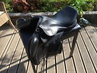 Stirling shire saddlery jumping saddle