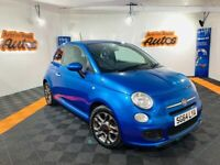 2014 FIAT 500 S 1.2 ** FULL HISTORY ** HALF LEATHER ** FINANCE AVAILABLE