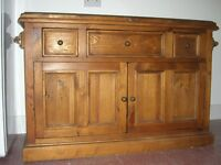 Large Characterful Pine Chest. Probably Edwardian