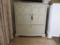 Ercol TV cabinet/cupboard~Farrow and Ball~2 available